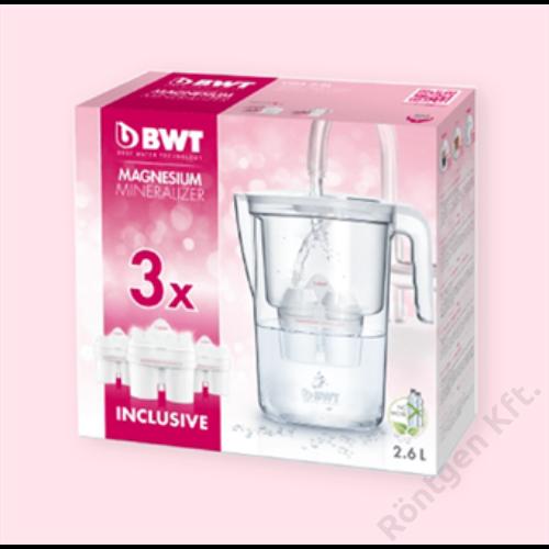 BWT Vida víztisztító kancsó + 3 db szűrőbetét