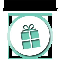 Válasszon ajándékot megrendeléséhez