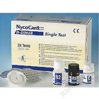 D-dimer teszt Nycocard készülékhez