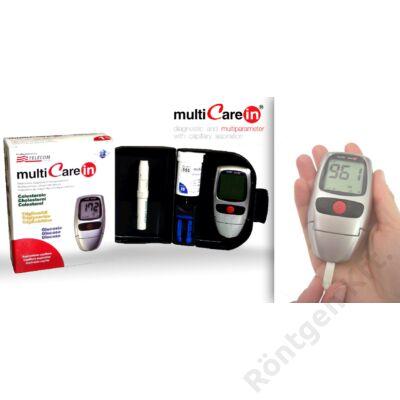 MultiCare-IN vércukor-koleszterin-trigliceridszintmérő