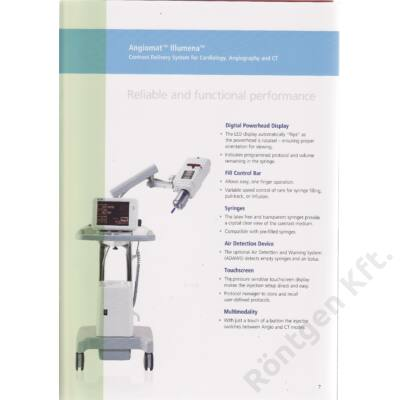 Angiomat Illumena kontrasztanyag injector