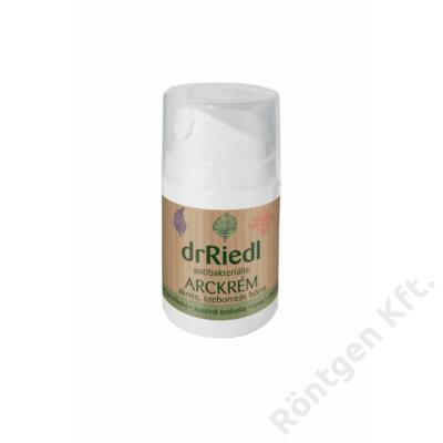 dr Riedl antibakteriális arckrém