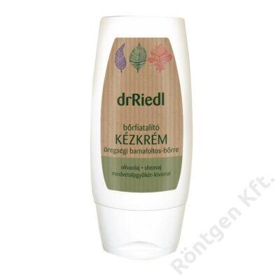 dr Riedl bőrfiatalító kézkrém