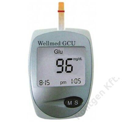 Wellmed Easy Touch GCU cukor-, húgysav és koleszterin mérő készülék