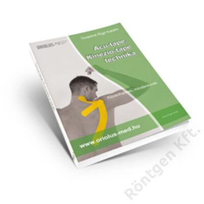 Kineziológiai tapasz ragasztási technikák könyv + 3 db kineziológiai tapasz