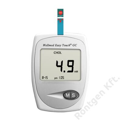 Wellmed Easy Touch GC vércukor- és koleszterinszintmérő készülék