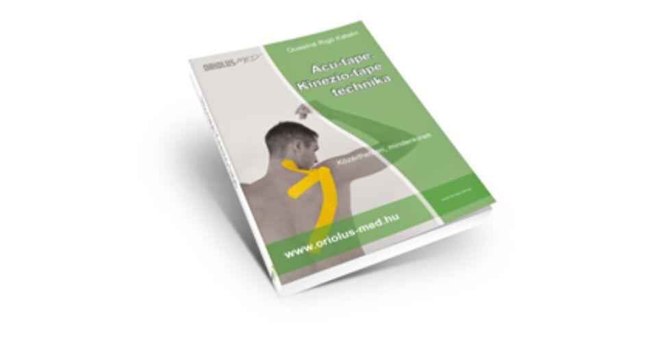 Kineziológiai tapasz ragasztási technikák könyv + 3 db..